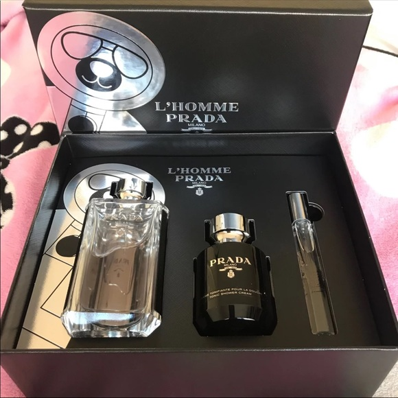 Prada Other - L'HOMME PRADA MILANO SET